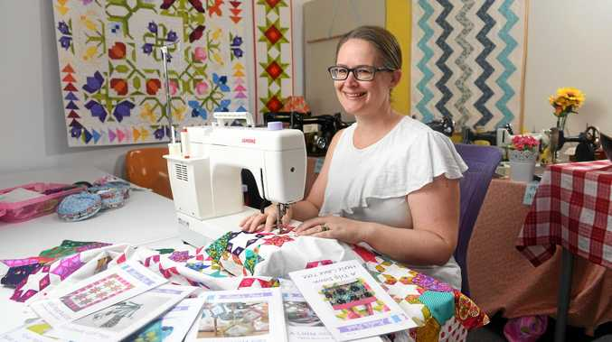 NEW MARKET: Kaela's Patch owner Kylie O'Mahony has taken on new customers from Canada and the United States.