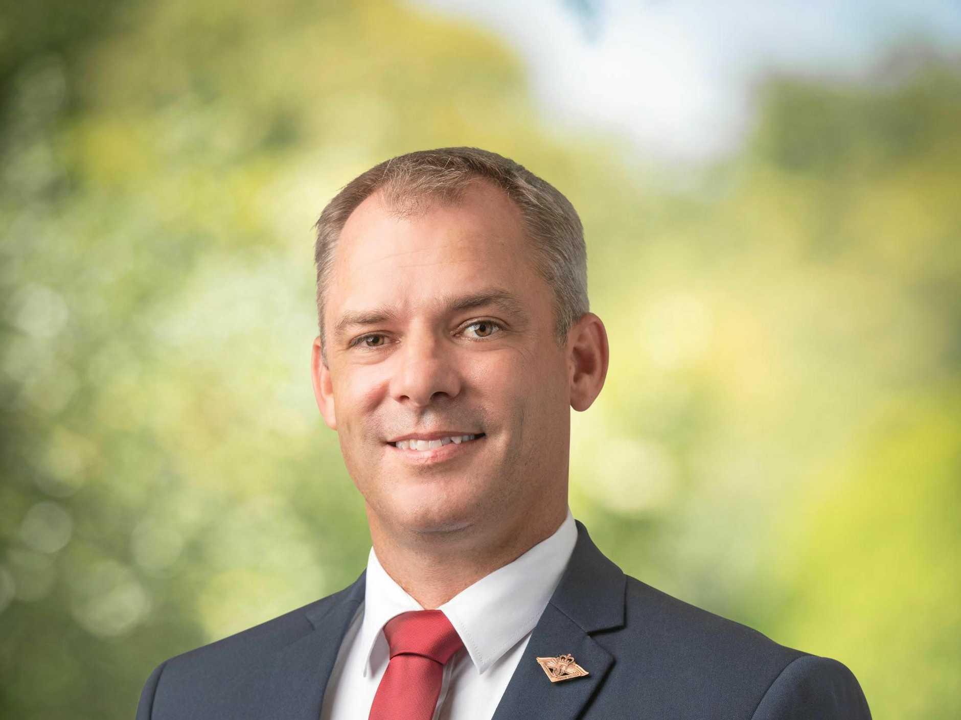 Jason Scanes, Labor candidate for Wide Bay.