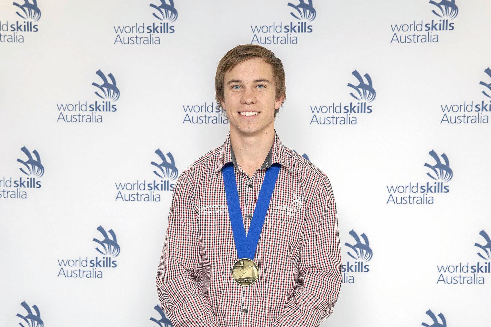 Gold medal WorkSkills National Championship winner Paddy Brennan of TSR Refrigeration and Air Conditioning.