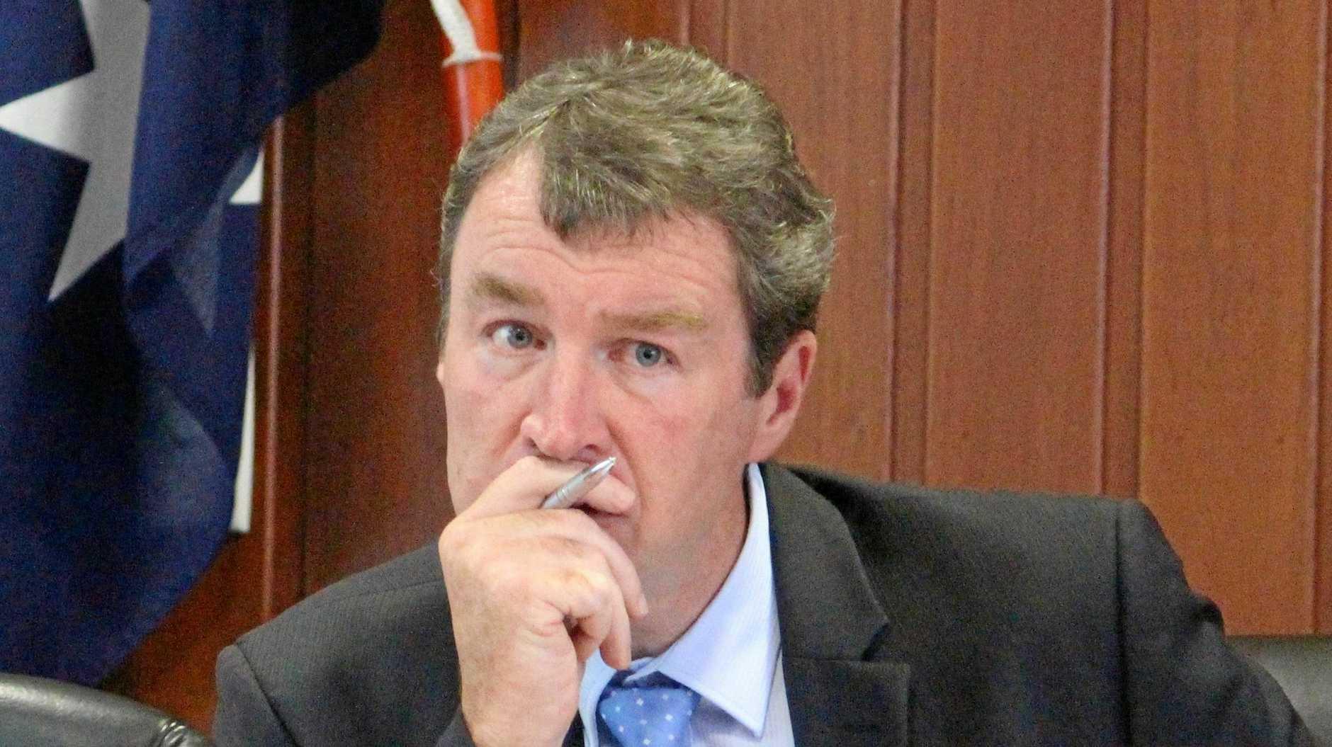 Southern Downs Regional Council CEO David Keenan.
