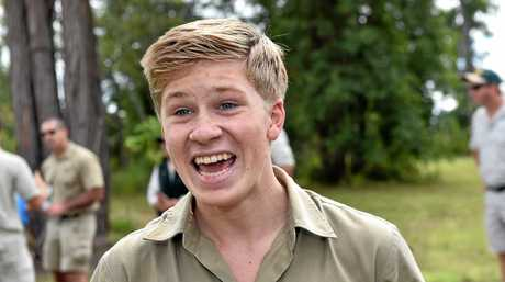 Robert Irwin is excited to see the project come to life.