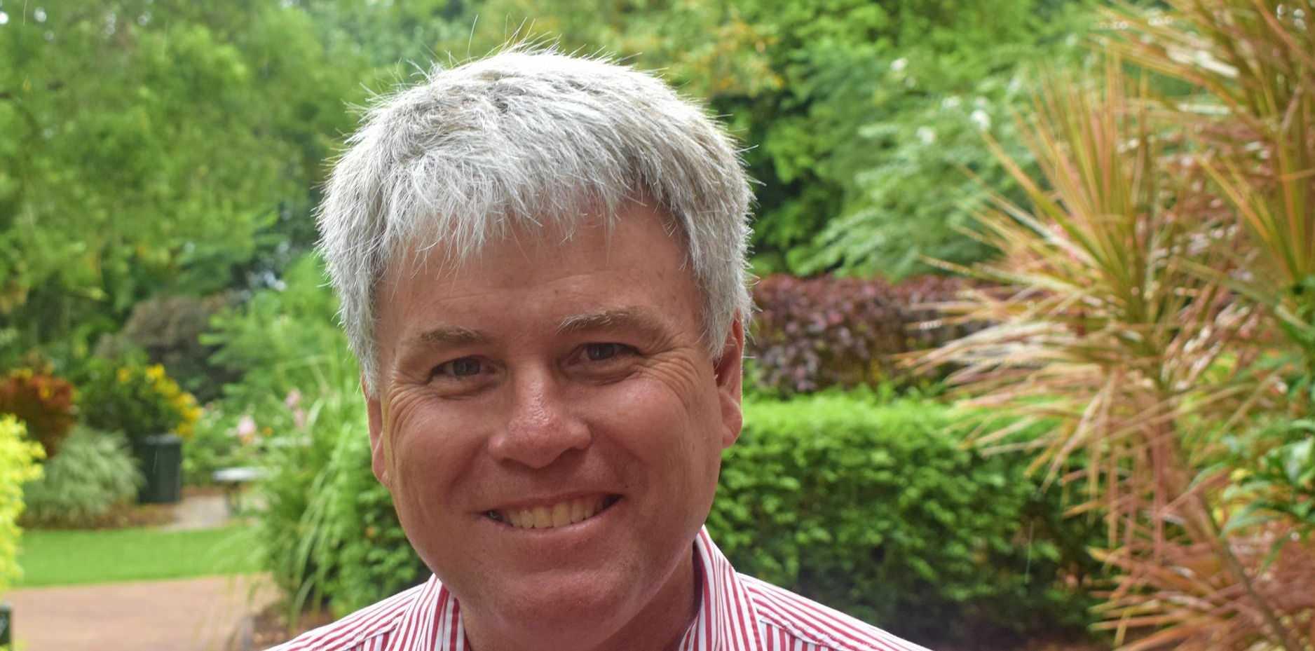 Rockhampton Grammar School Headmaster Dr Phillip Moulds.