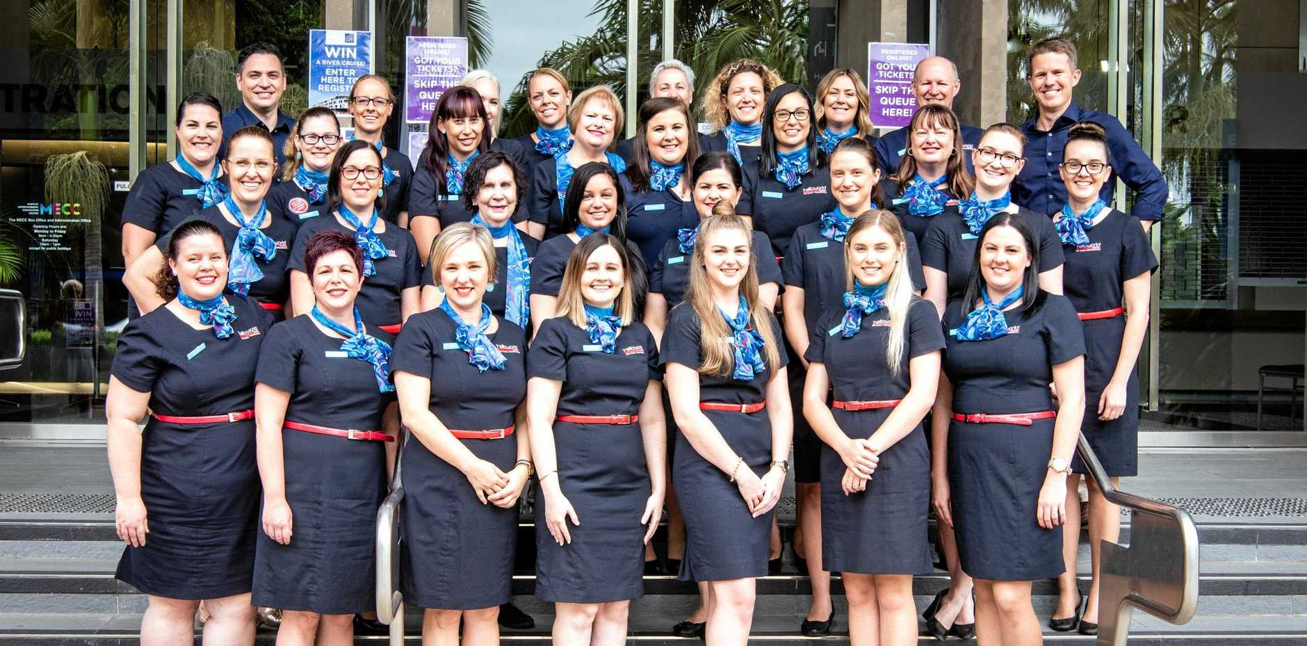 NATIONAL RECOGNITION: The team at Helloworld Travel Mackay have been nominated as a finalist for the National Travel Industry Awards.