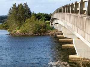 Bridge reduced to one lane for maintenance works