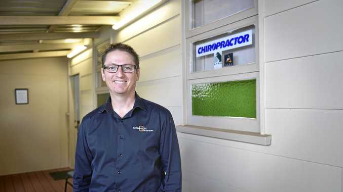SO LONG: Duane Parkinson will shut the doors to his Campbell St clinic on Thursday ahead of the move to his new premises, bringing to an end 72 years of continuous practice from the site.