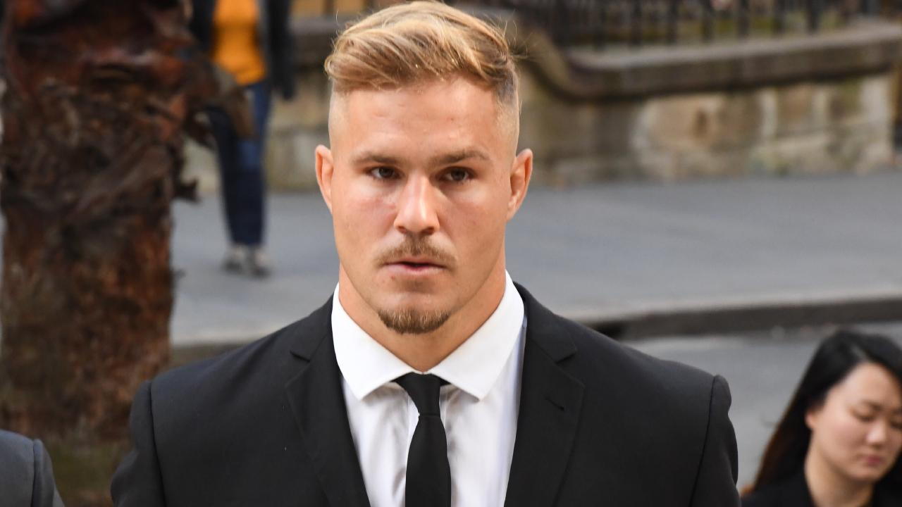 Jack de Belin arrives at the NSW Federal Court in Sydney today. Picture: AAP