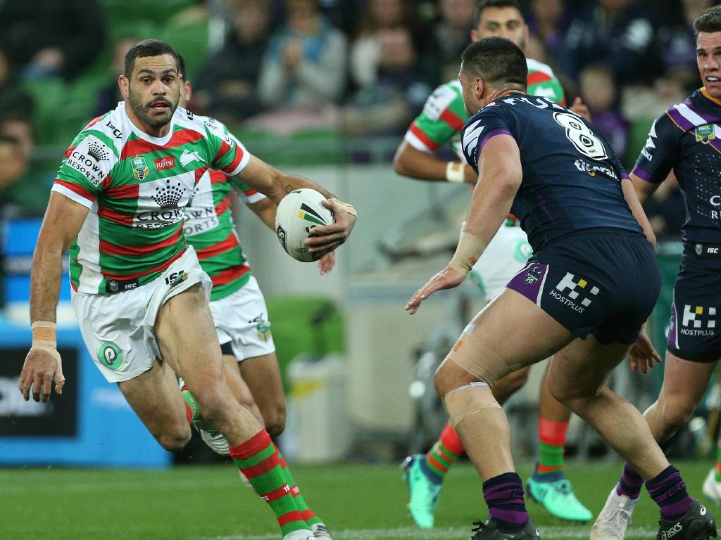 Greg Inglis in full flight.