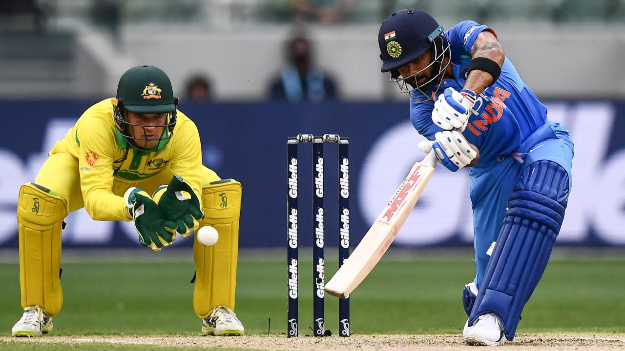 Alex Carey earmarked as Australia's long-term wicketkeeper across all forms. Picture: AFP