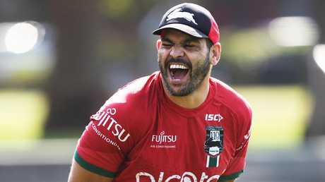 Greg Inglis says he is going to miss the banter at training the most. Picture. Phil Hillyard