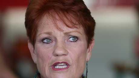 Senator Pauline Hanson's star power shouldn't be underestimated. Picture: Lyndon Mechielsen