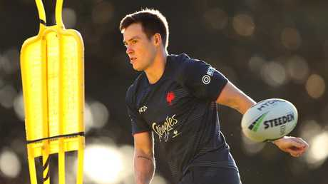 Luke Keary is back for the Roosters. Picture: Brett Costello