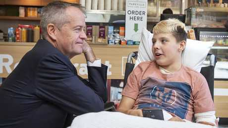 Labor and Bill Shorten are spruiking their health policy commitments. Picture: AAP