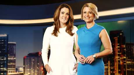 Kristina Keneally (left), who for a time had a show on Sky News with former PM Tony Abbott's press secretary Peta Credlin. Picture: Tim Hunter
