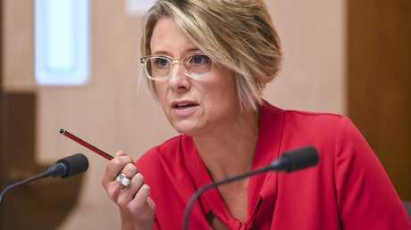 She's got a sense of humour, sure. But don't mess with Kristina Keneally. Picture: AAP Image/Lukas Coch