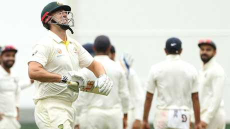 Mitchell Marsh's fall from grace has been swift and emphatic, left off the contract list entirely.