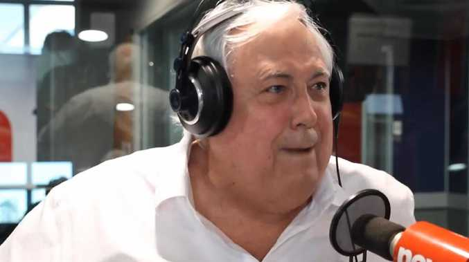 Clive Palmer. Picture: Fitzy & Wippa Facebook