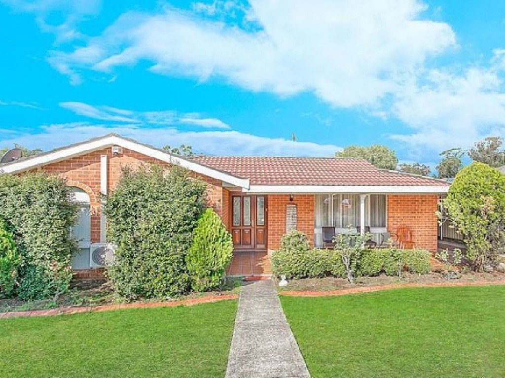 This home in Jarvis Place, Hebersham, in Sydney's west, dropped $40,000 from July 2016 to March 2019.