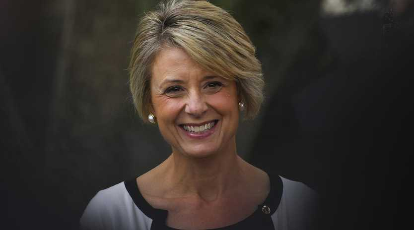 Labor Senator Kristina Keneally is proving to be an electoral asset for Labor on the campaign trail. Picture: AAP Image/Lukas Coch