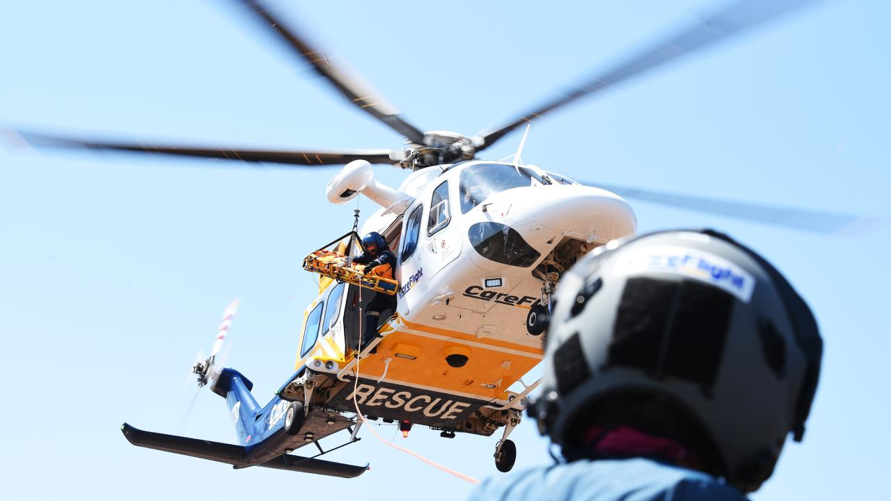 Two crash victims were flown to Royal Darwin Hospital from Kalkarindji early this morning.