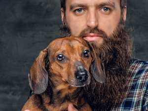 Are beards more gross than dogs? Science has the answer