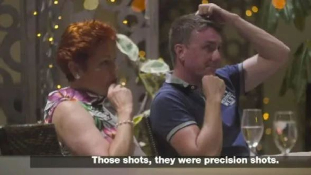 One Nation leader Pauline Hanson exposed by hidden camera as part of an undercover investigation.