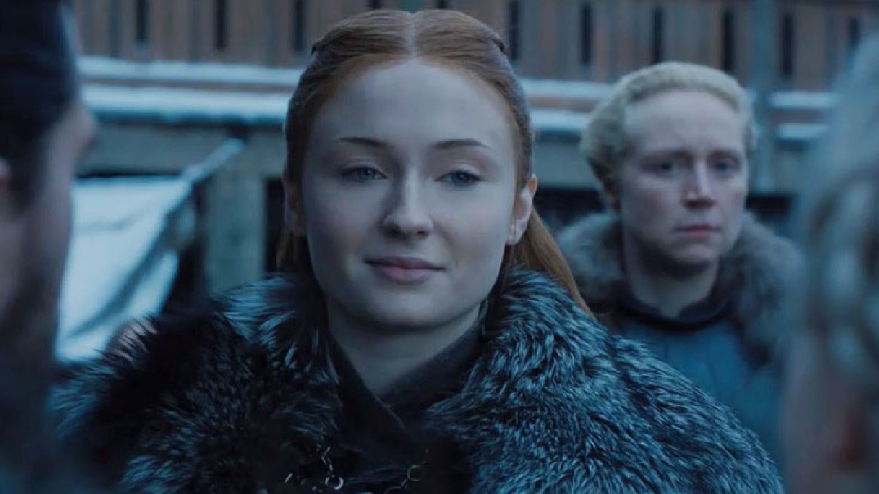 "Her mouth said ""Winterfell is yours, Your Grace"" but her eyes said GTFO."