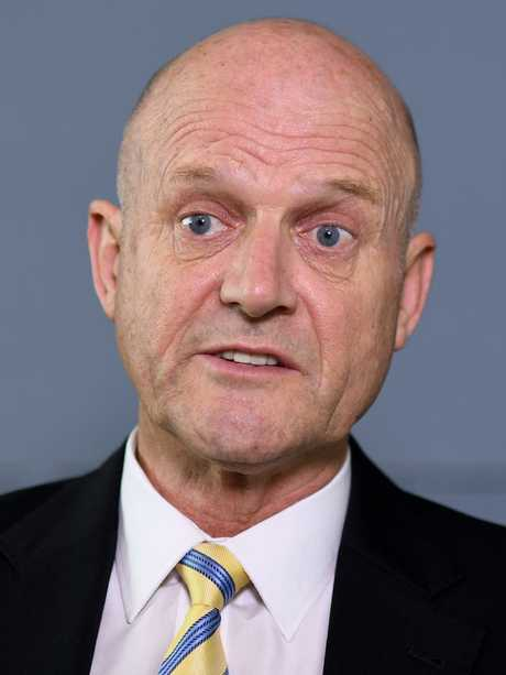 David Leyonhjelm missed the cut. Picture: AAP Image/Joel Carrett