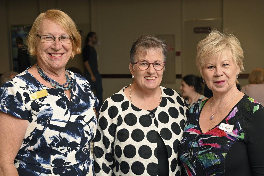 Image for sale: Future Ipswich Forum. Marie Kavanagh, Kate Kunzelmann and Lyn Birnie.