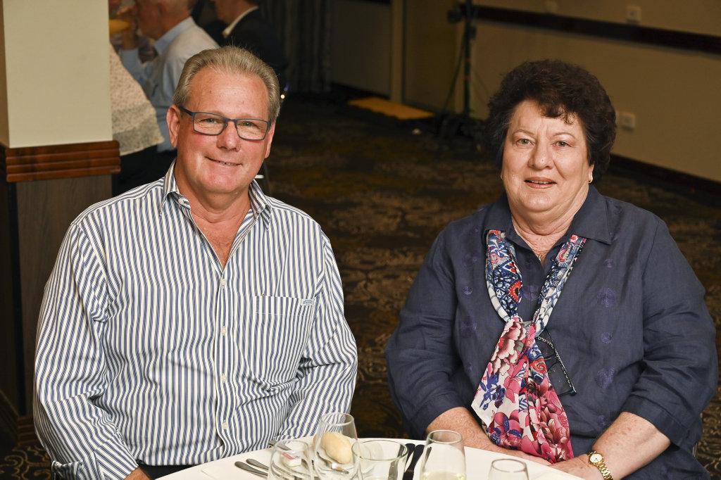 Image for sale: Future Ipswich Forum. Graham McAully and Marlene Gehrke.