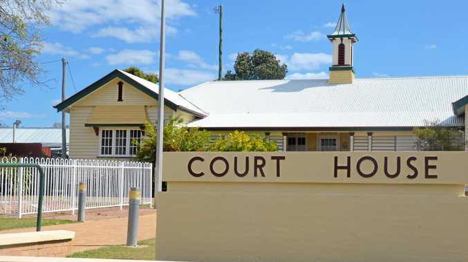 COURT HOUSE: Gayndah Magistrates Court.