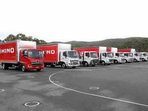 Hino test drive