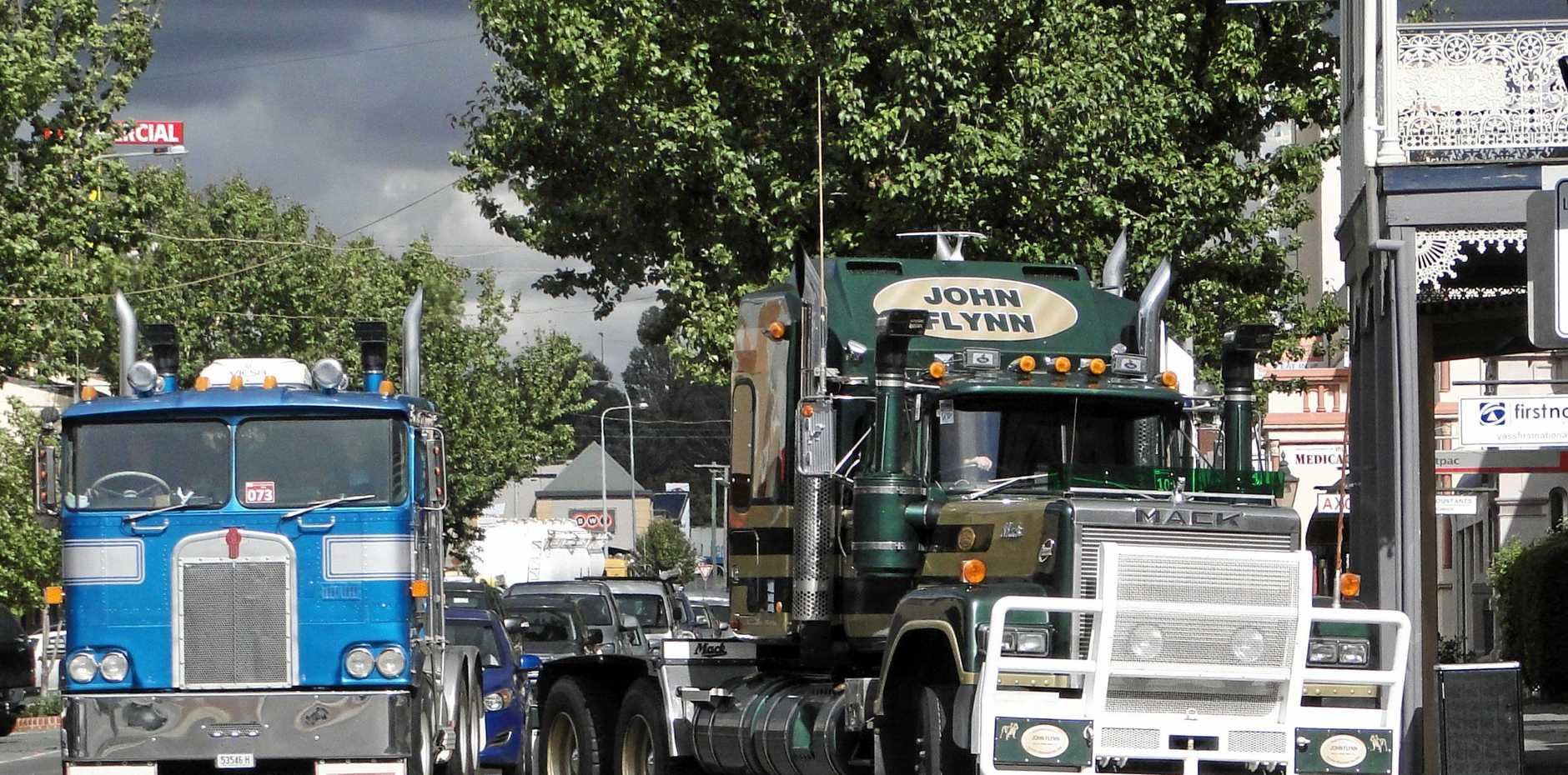 THE GLORY DAYS: Hundreds of trucks and drivers relived the