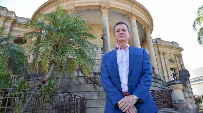 CQUniversity Vice-Chancellor Professor Nick Klomp.
