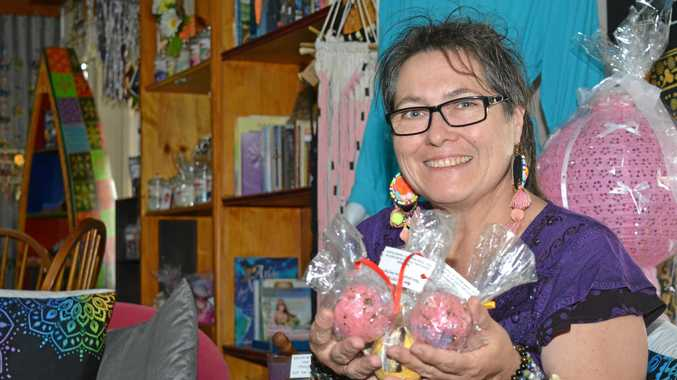 CRAFTING COMMUNITY: Catherine Kelso is looking forward to a session on creating bath bombs.