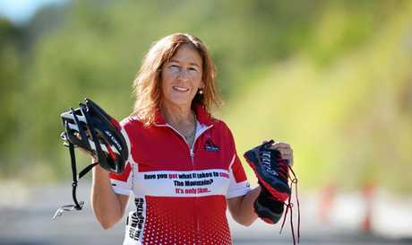JOIN IN: President Sharon Kearney is urging people to get involved in Challenge Rockhampton, to be held in September. INSET: Event ambassador Anna Meares.