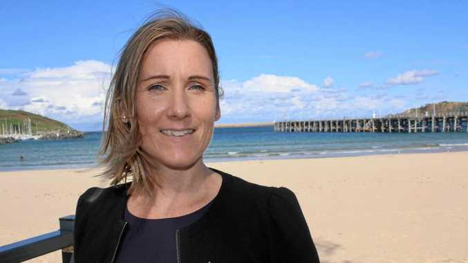 PRESELECTED: Greens candidate for Cowper Lauren Edwards.