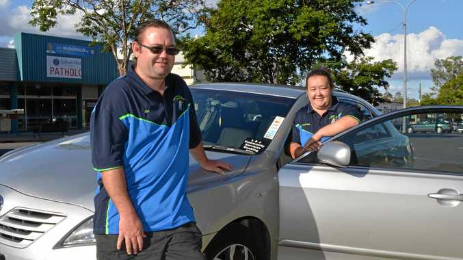 SOMETHING DIFFERENT: Jon and Lacynda Plant from L & J Community Services Booking Hire have launched their business in the Lockyer Valley and Somerset regions.