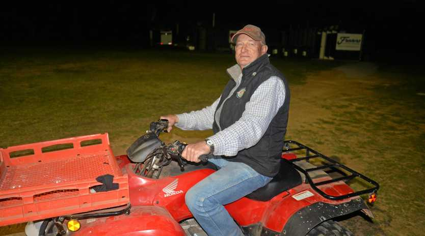 VOLUNTEER: John Cooper, from New Zealand, is one of the volunteers at the Adina Polocrosse World Cup.
