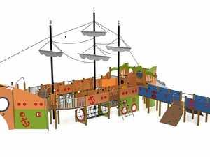 VOTES ARE IN: Jacaranda Park galleon named