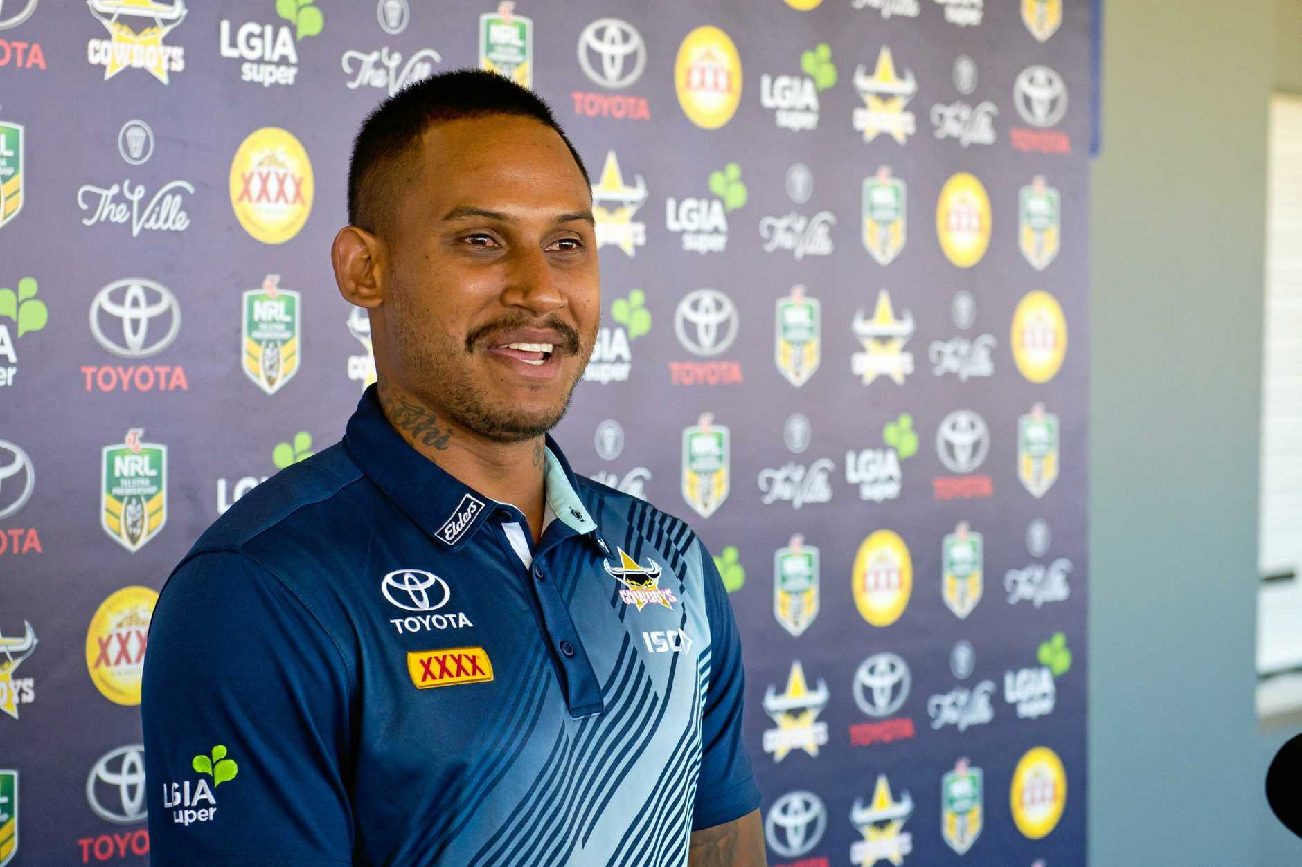 Ben Barba's case will be moved back to Townsville.