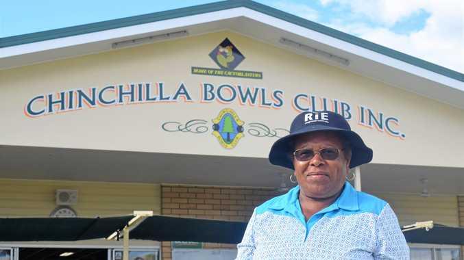Maria bowls Chinchilla over