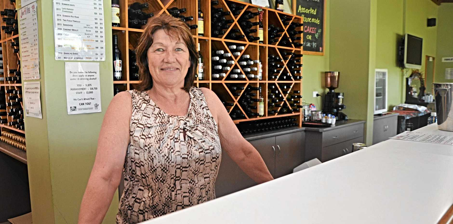 NEW TERRITORY: Jester Hills' Ann Bourke will take part in the upcoming wine workshops at the Queensland College of Wine Tourism.