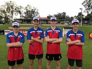 Next generation of Gympie Cats players take to the field