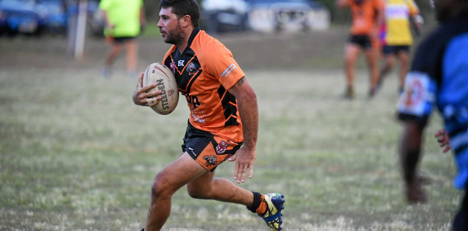 FEARLESS: Avondale Tigers captain Frank Primavera led his team in a tough win over a determined Sharks.