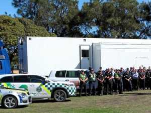 Operation targets heavy vehicles along Victoria coastline
