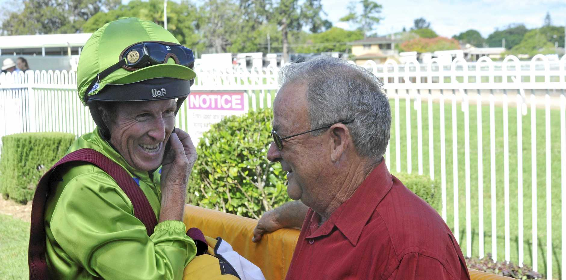 Matthew Bennett rode Oyashio Drift to victory for Grafton trainer John Shelton in the Valley Protective Services F&M Maiden Handicap over 1115m at Clarence River Jockey Club in Grafton on Monday, 15th April, 2019.