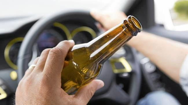DRINK-DRIVE CHARGE: Ross Evan Harvey, 47, was pulled over at Golden Beach and blew more than four times the legal alcohol limit.