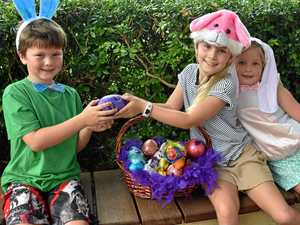 Bunny, train, cars on offer as Easter on Mary fun fires up