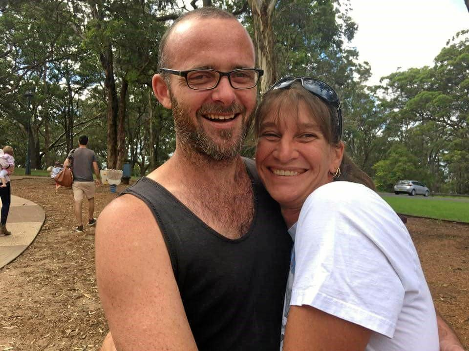 HAPPIER TIMES: Sharlene Wyatte and partner Paul are now navigating their way through her first course of treatment.