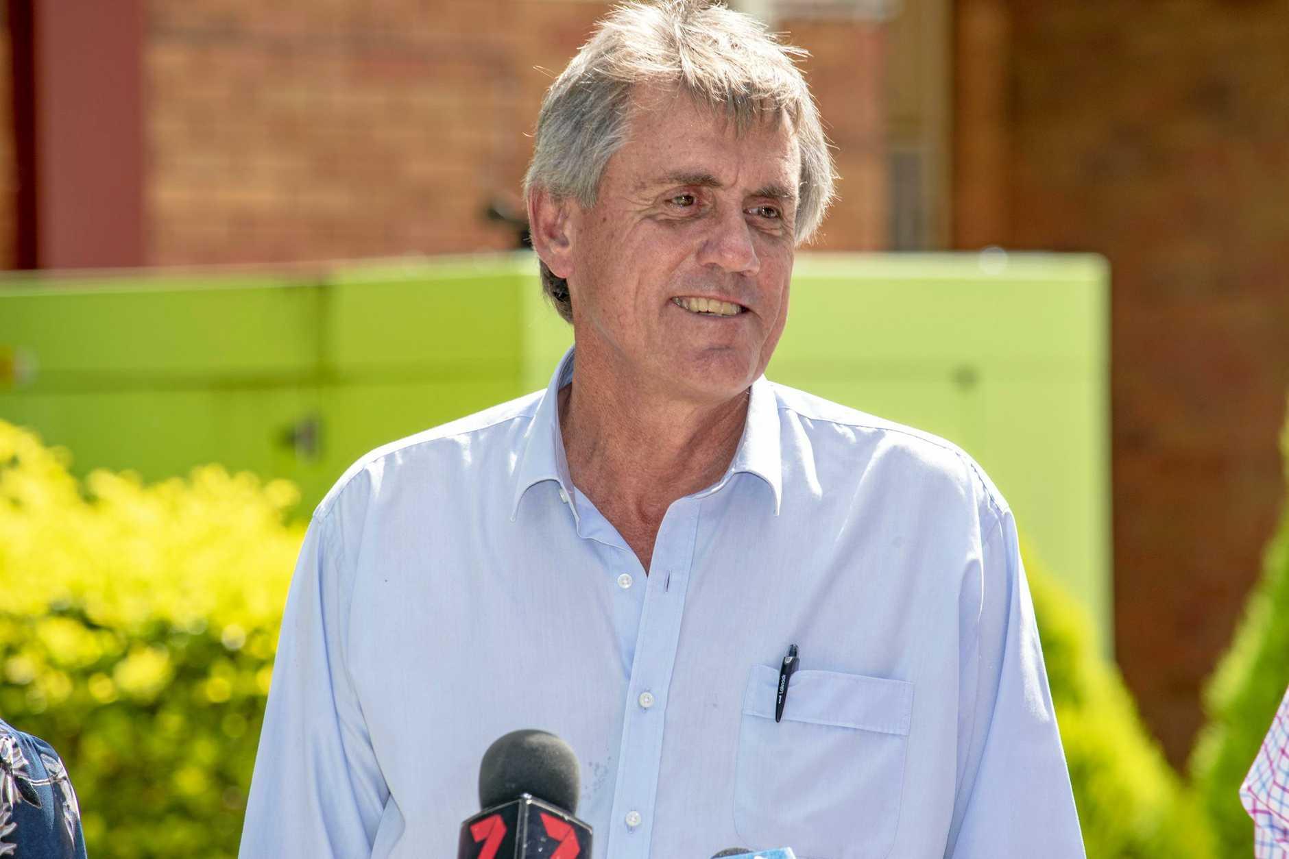 Lockyer Water Users Forum member Gordon Van der Est.